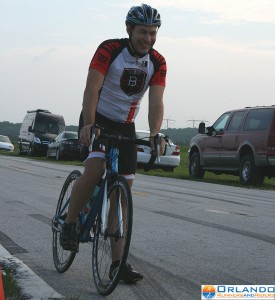 Tom McNeill from Kyle's Bike Shop won the Eddy Merckx division with a 1:05:55