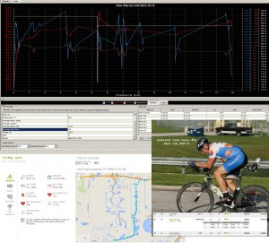 Power Agent and Endomondo data (Endo includes cool down lap)