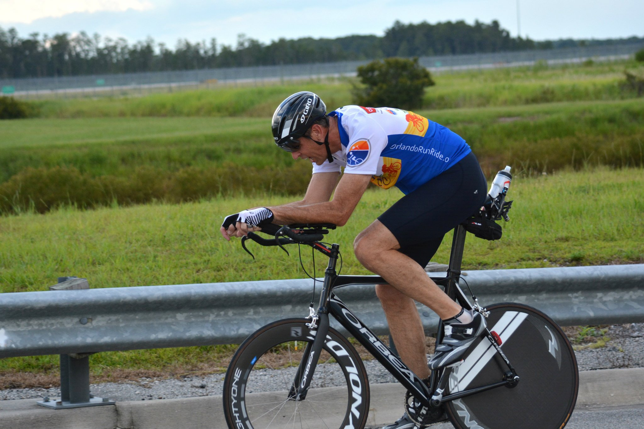 Randy at the finish (Darby Hardesty Photo)
